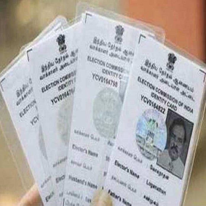 Digital voter ID cards