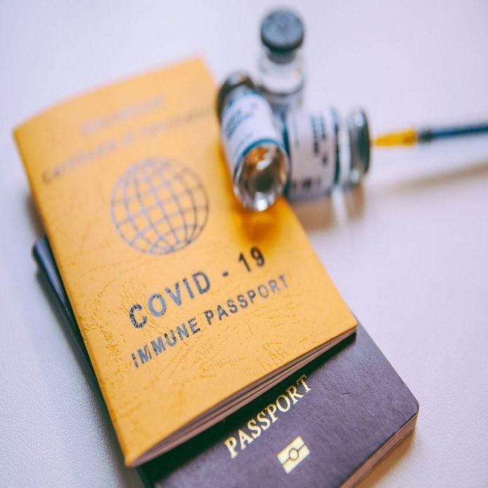 Link your passport with vaccine certificate