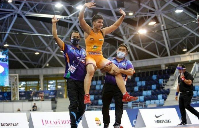 Indian wrestler Priya Malik