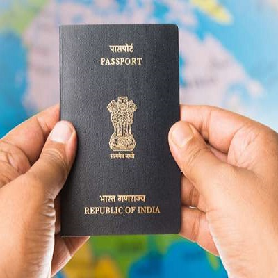 Passport in Post Office