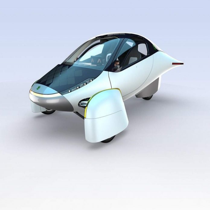 Solar Charging Electric Cars