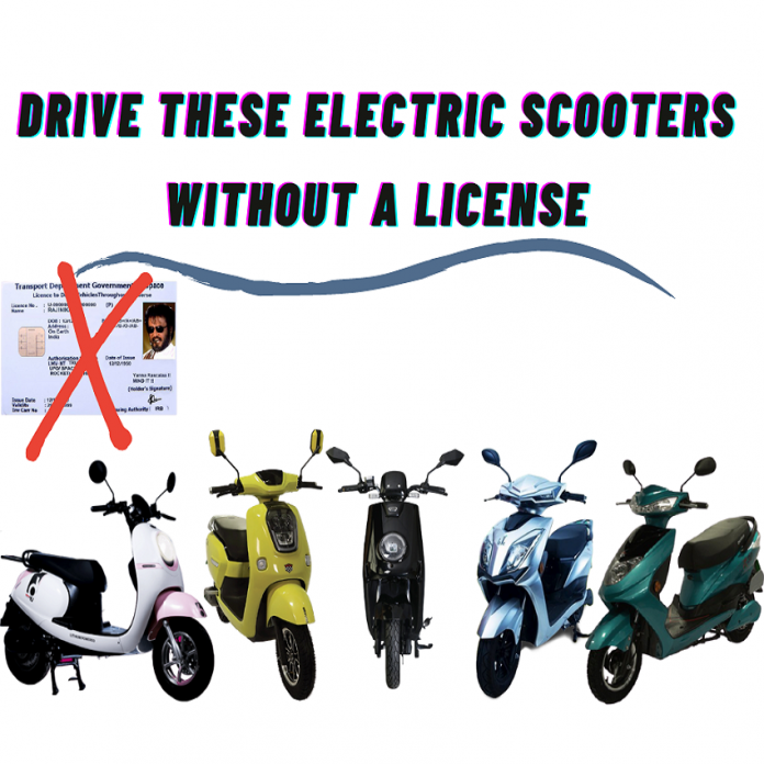 Electric Vehicle Without Driving License