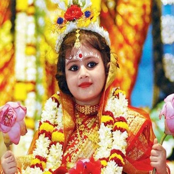 Navratri Kanya Pujan