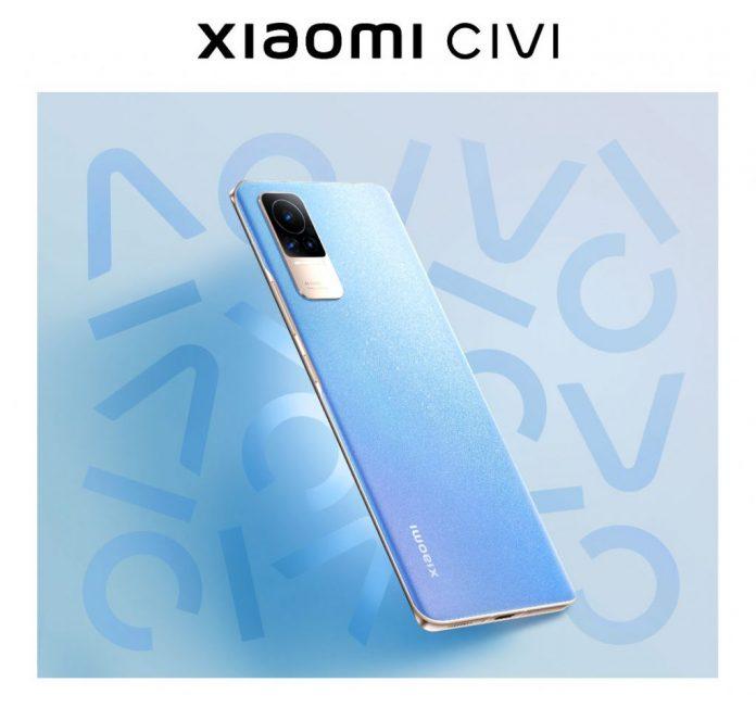 Xiaomi CIVI smartphone